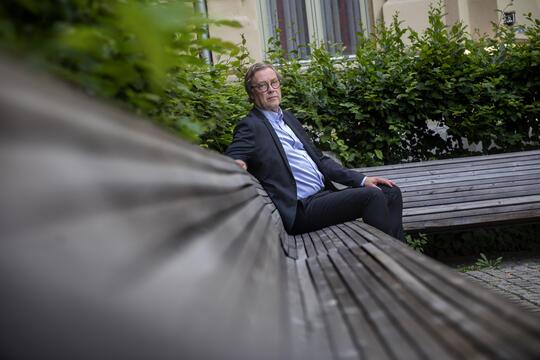 Portrett Bjørn Skrattegård