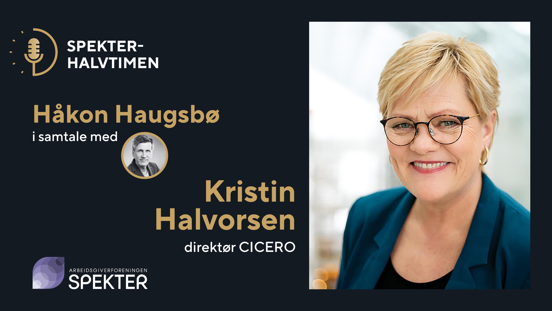Spekterhalvtimen Kristin Halvorsen