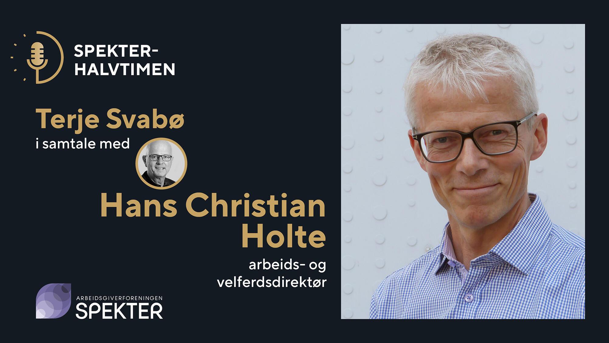 Spekterhalvtimen Hans Christian Holte