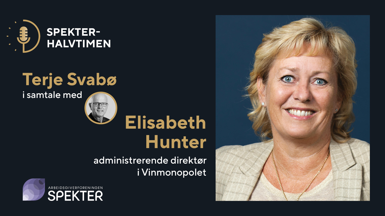 Spekterhalvtimen Elisabeth Hunter