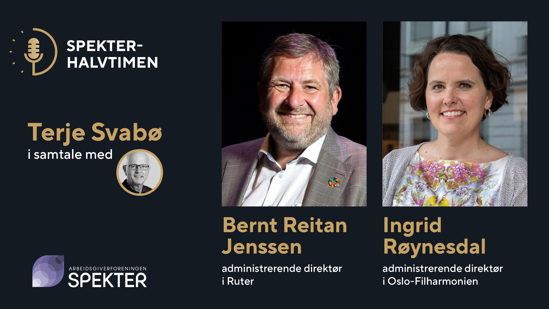 Spekterhalvtimen Ingrid Røynesdal og Bernt Reitan Jenssen