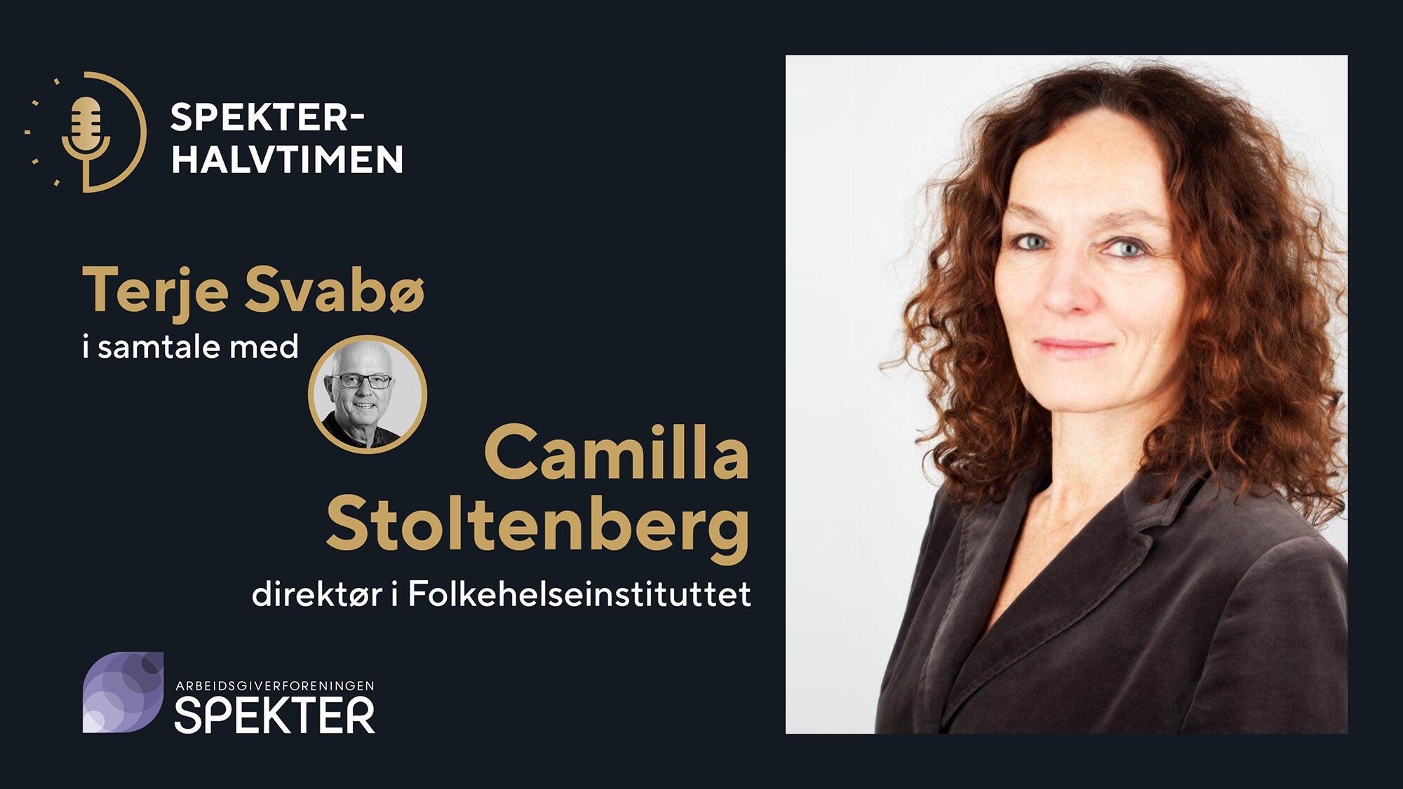 Spekterhalvtimen Camilla Stoltenberg