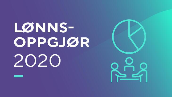Lønnsoppgjøret 2020 banner