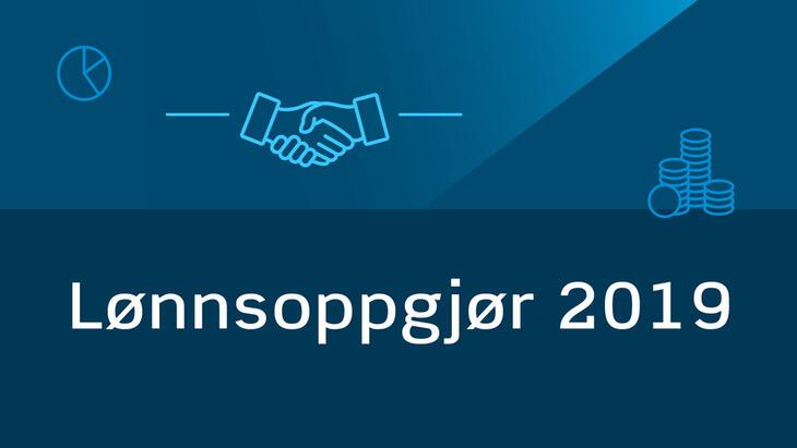 Lønnsoppgjør 2019 banner