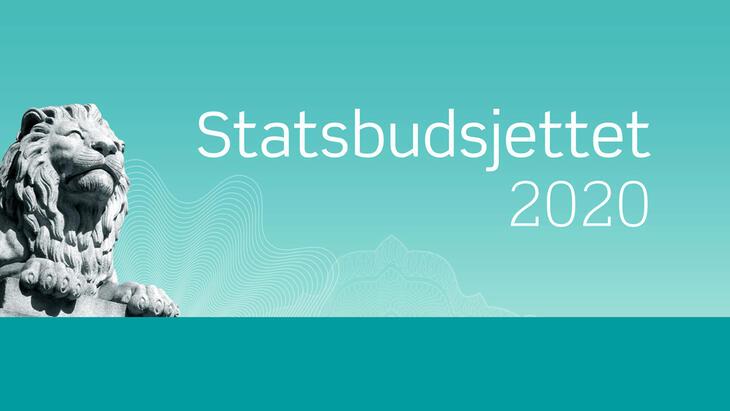 Statsbudsjettet 2021 banner