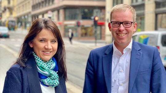 Anne-Kari Bratten og Håkon Haugli InnoPodden
